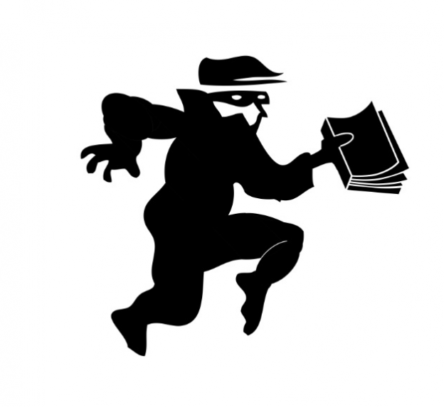 Logo - Book Thieves (Writers & Books)